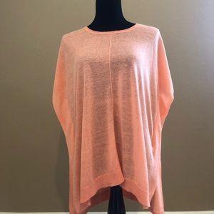 J.Jill oversized tunic (coral/orange) sizeM/L